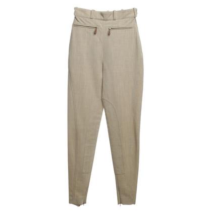 Hermès trousers in Beige