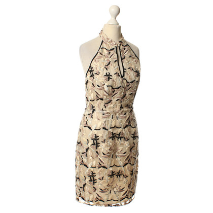 Hoss Intropia Halter dress with flower pattern