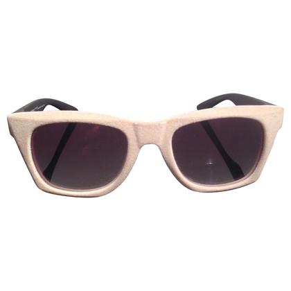 Karl Lagerfeld Zonnebril met fluweel coating