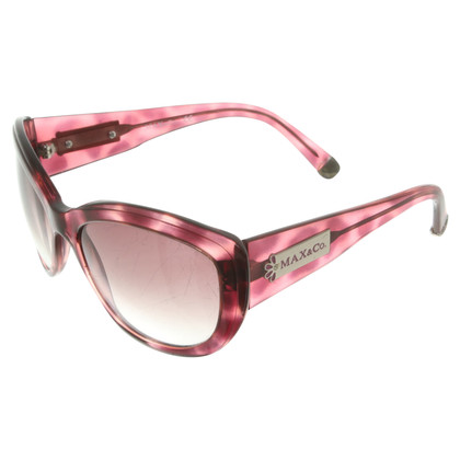 Max & Co Sunglasses in rosé / black