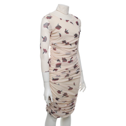 Ganni Mesh dress with pattern