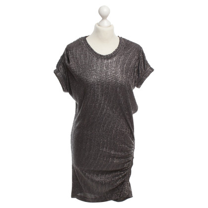 Iro Kleid in Metallic-Optik