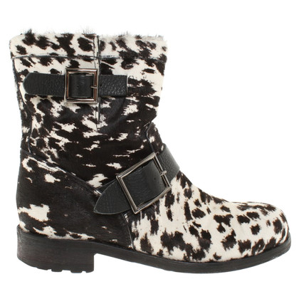 Jimmy Choo Boots in zwart / White