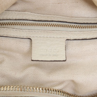 Gucci Leather handbag in cream
