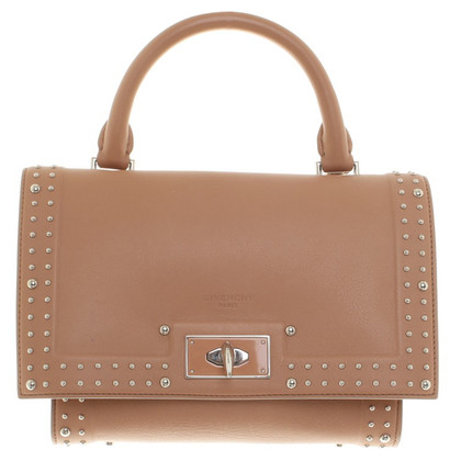"Givenchy ""E19611c7 Shark Bag"" in nude"