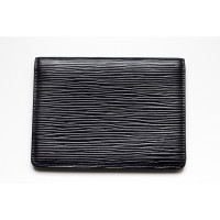 Louis Vuitton Card holder EPI leather in black