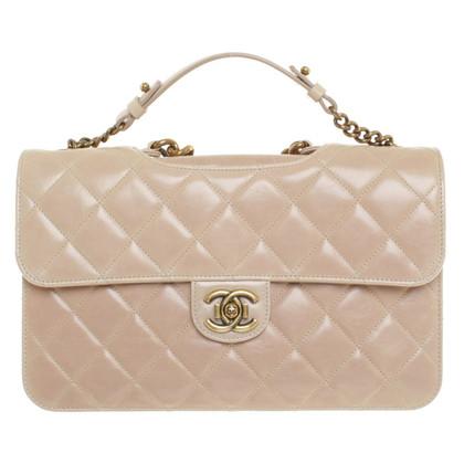 Chanel Nudefarbene Handtasche