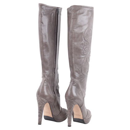 Ermanno Scervino Boots in Grey
