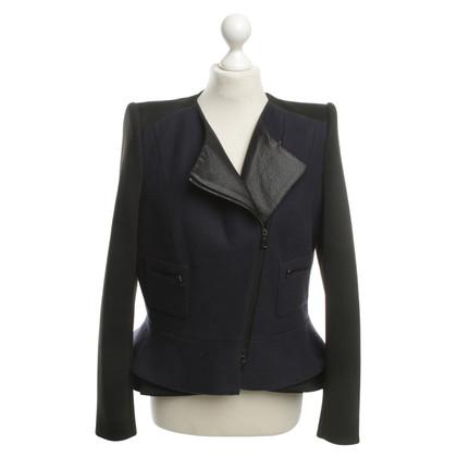 Schumacher Jacket in blue / black