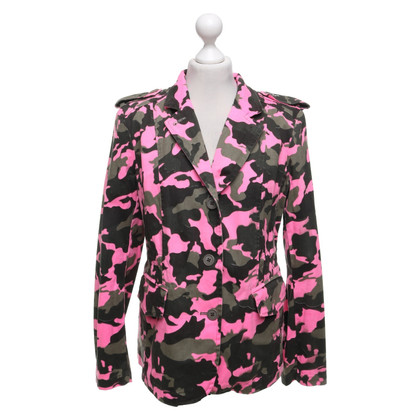 Camouflage Couture Jacket with camouflage pattern