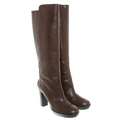 Tod's Leather boots in brown