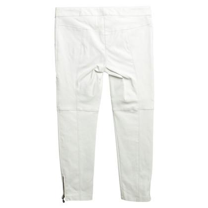 Patrizia Pepe Pantaloni di pelle in bianco