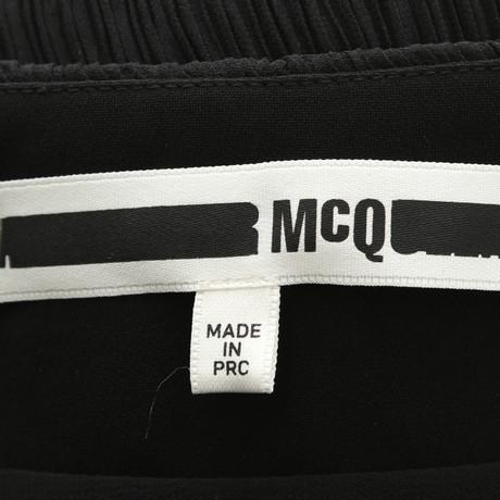 McQ Asymmetrischer Schwarz Schwarz McQueen in Alexander Alexander Rock McQ rIqwrv