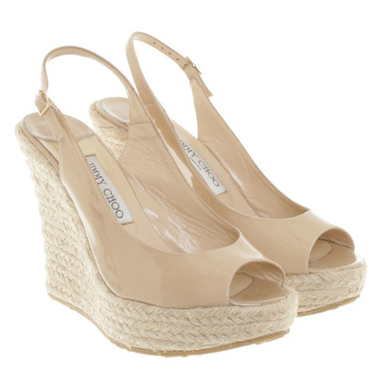 Jimmy Choo Wedges in Nude