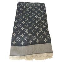Louis Vuitton Monogramme denim en tissu bleu