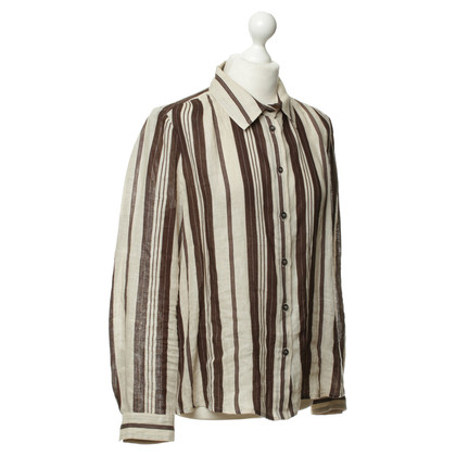 Chloé Linen blouse with stripes