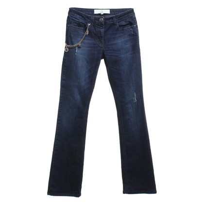 Elisabetta Franchi Jeans in dark blue