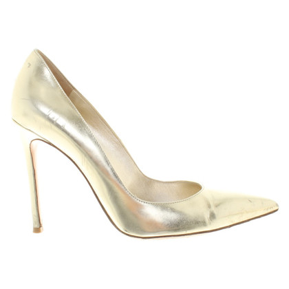 Gianvito Rossi Gold color pumps