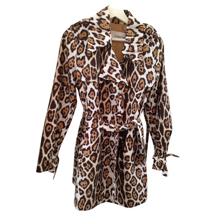 Ermanno Scervino Rain jacket with Leopard print