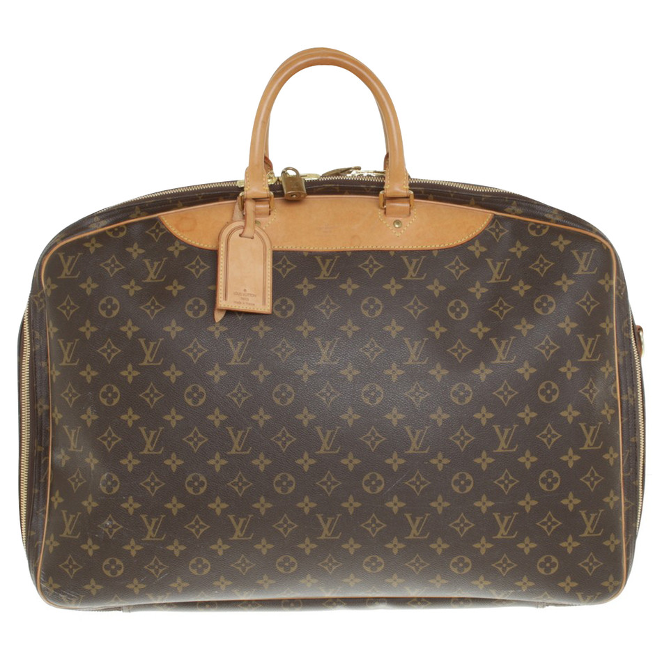 louis vuitton reisetasche aus monogram canvas second hand louis vuitton reisetasche aus. Black Bedroom Furniture Sets. Home Design Ideas