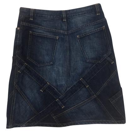 Burberry skirt made of denim