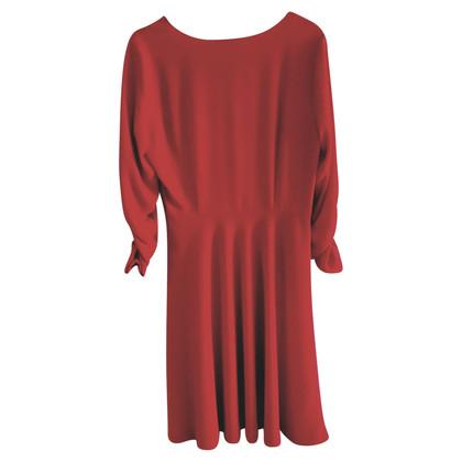 Donna Karan Silk dress in red