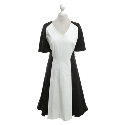 Preen Dress in black and white