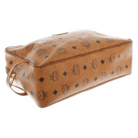 MCM Beauty Case with monogram pattern