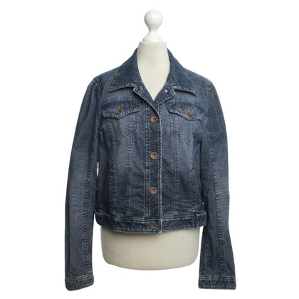 Marc Cain Corduroy jacket in blue