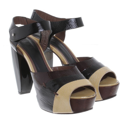 Marni Sandals patent leather