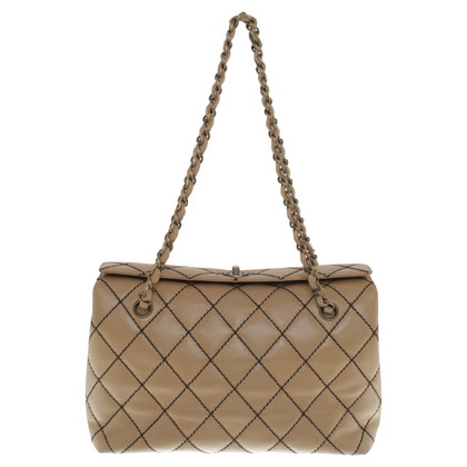 Chanel Quilted handbag in beige