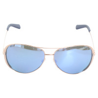 Michael Kors Rosé-gold Aviator sunglasses