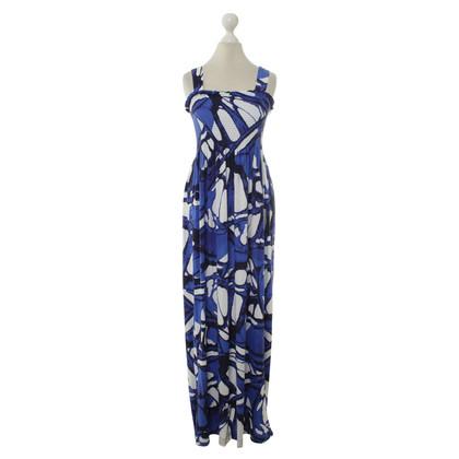 Escada Maxi dress with pattern