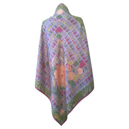 Lanvin silk carré scarf