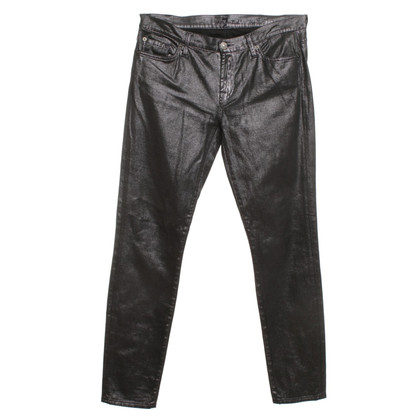 7 For All Mankind Jeans with shimmer effect