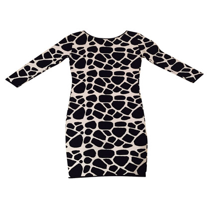 Pierre Balmain Strickkleid im Animalprint