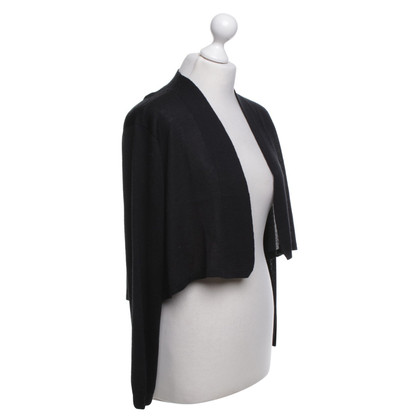 Hoss Intropia Strickbolero in black