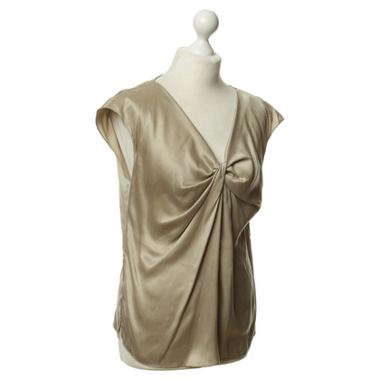 Paule Ka Silk top in beige