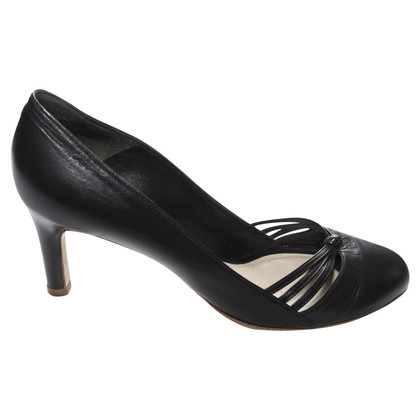 Marc Jacobs Zwarte lederen pumps