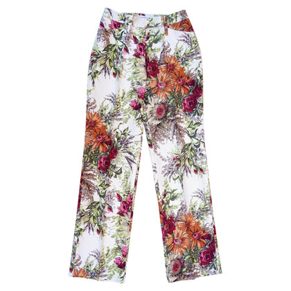 Dolce & Gabbana Silk trousers with print