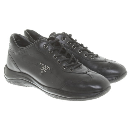 Prada in pelle Lace-up