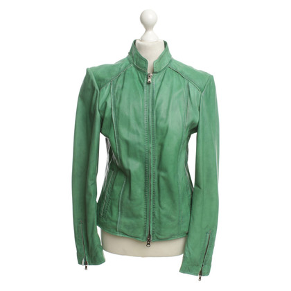 Other Designer Milestone - Green Leather Jacket