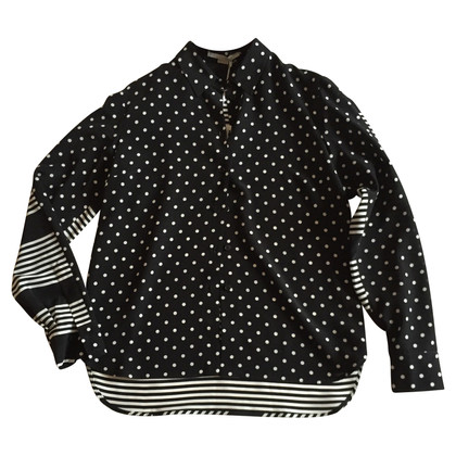 Stella McCartney Silk-black silk blouse 42 IT
