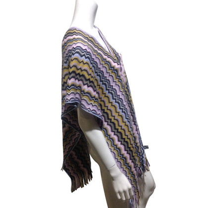 Missoni Poncho with tassels
