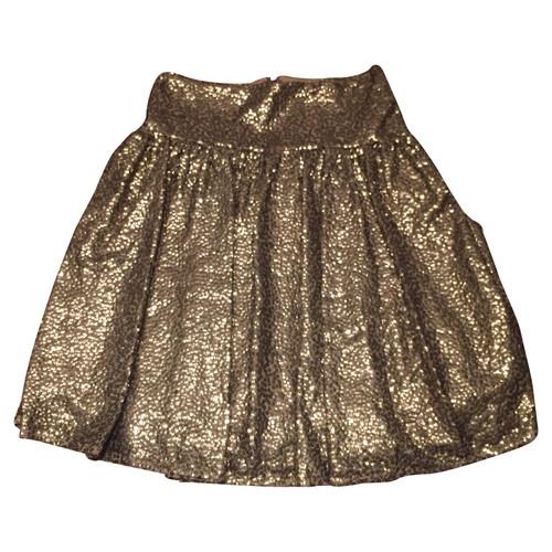 classic fit e10ef 445b7 Michael Kors Sequins skirt Gold - Second Hand Michael Kors ...