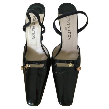 Louis Vuitton pumps pelle verniciata