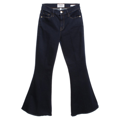 Frame Denim Flares in Blauw