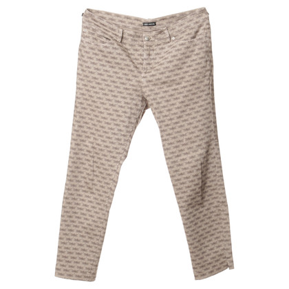 Iris von Arnim Jeans in beige with Dragonfly pattern