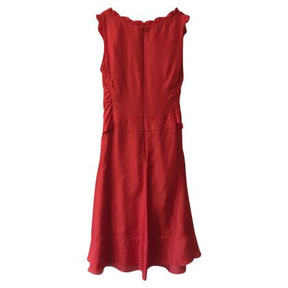 Céline Abito rosso in seta