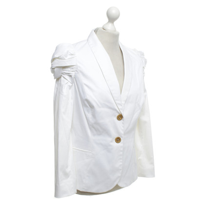 Barbara Schwarzer Blazer with decorative sleeves